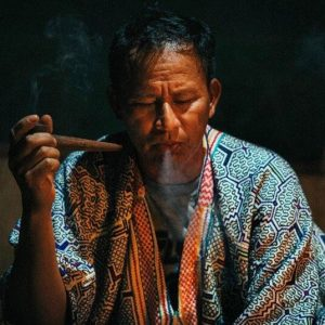 Don Miguel with Pipe