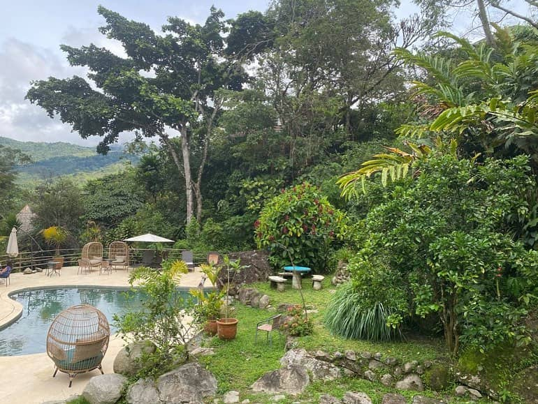 View of Finca Mia in Costa Rica