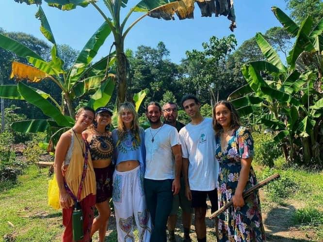 Group Photo in Peru Amazon